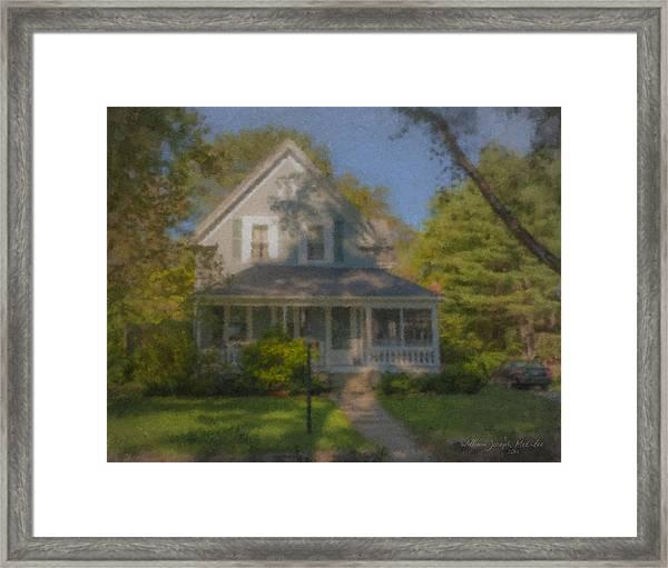 Wooster Family Home Framed Print
