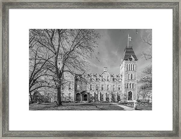 Worcester Polytechnic Institute Boyton Hall Framed Print by University Icons