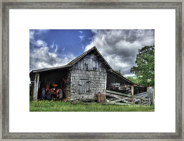 Work Is All Done Framed Print