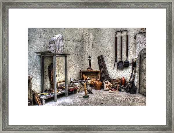 Work Room Framed Print