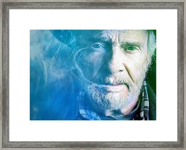Working Man Blues Framed Print