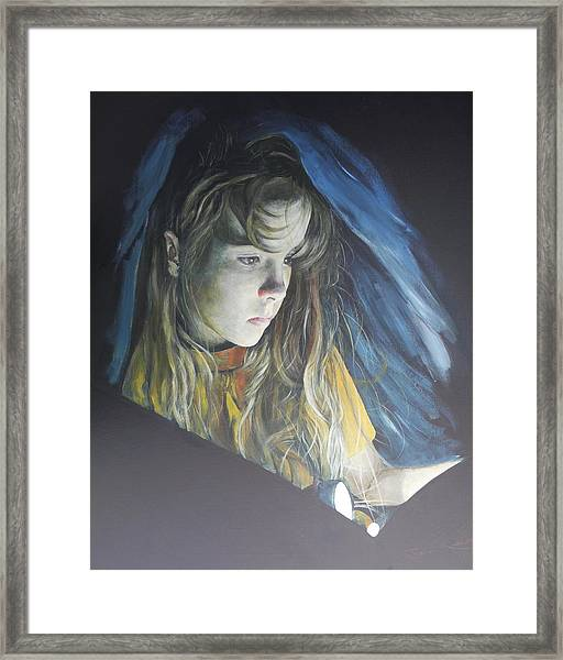 Working Undercover Framed Print