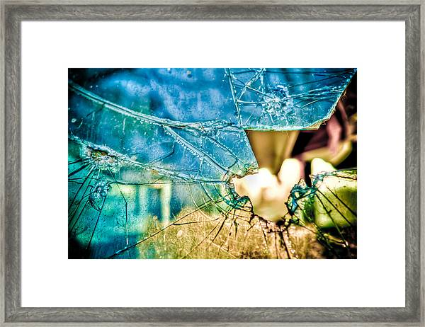 World In My Eyes Framed Print