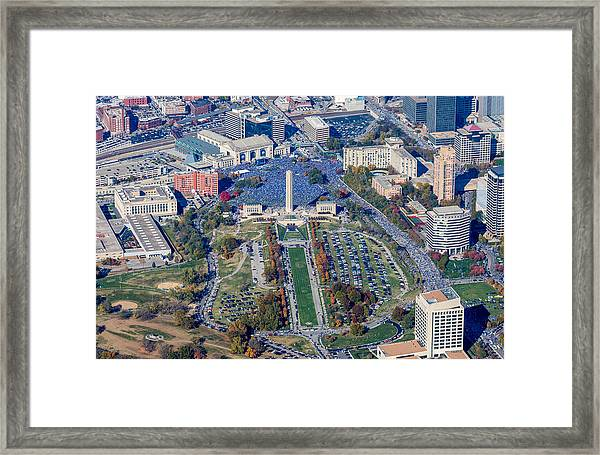 World Series Rally 2015 Framed Print