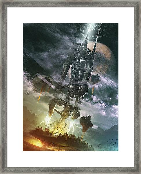 World Thief Framed Print