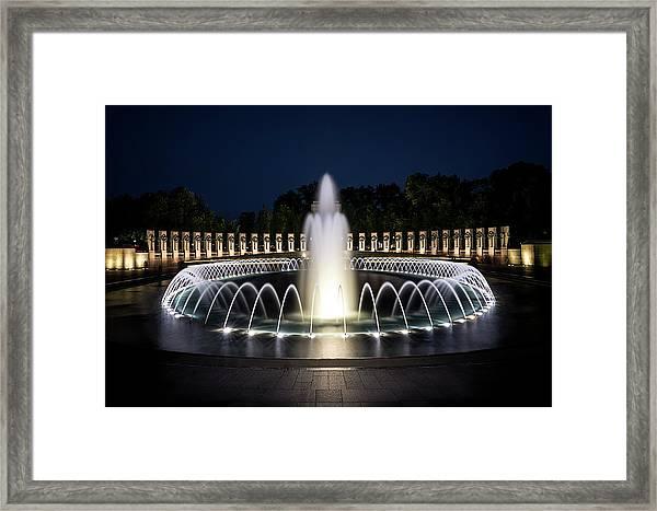 World War 2 Monument Framed Print