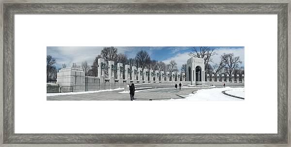 World War II Panorama Framed Print