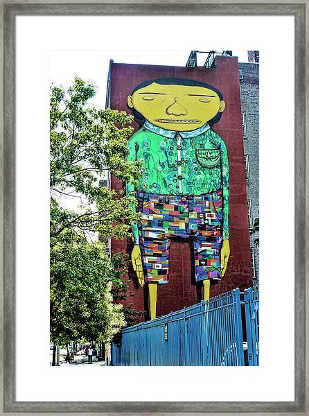 Worldcitizen Framed Print