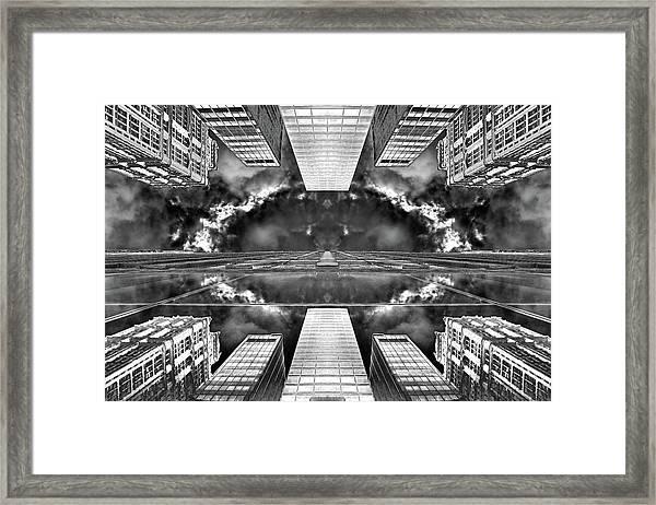 Worlds End  Framed Print