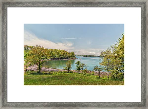 Worlds End Hingham Massachusetts Framed Print