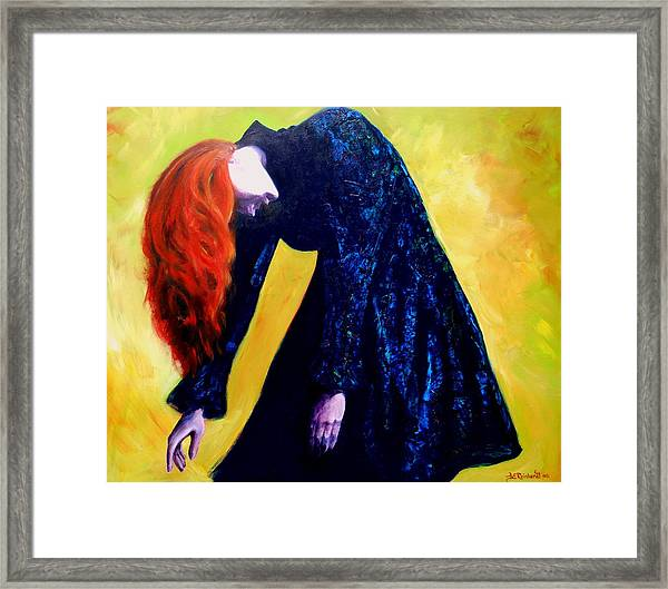 Wound Down Framed Print