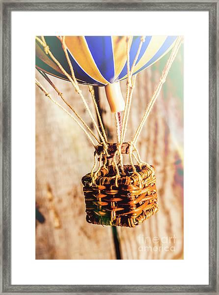 Woven Air Craft Framed Print
