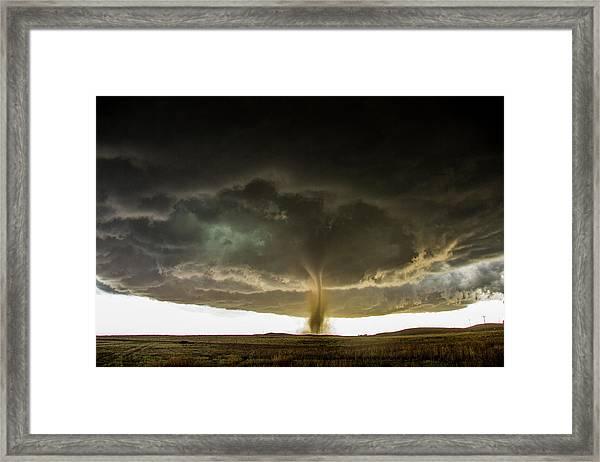 Wray Colorado Tornado 060 Framed Print
