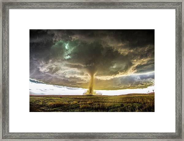 Wray Colorado Tornado 070 Framed Print