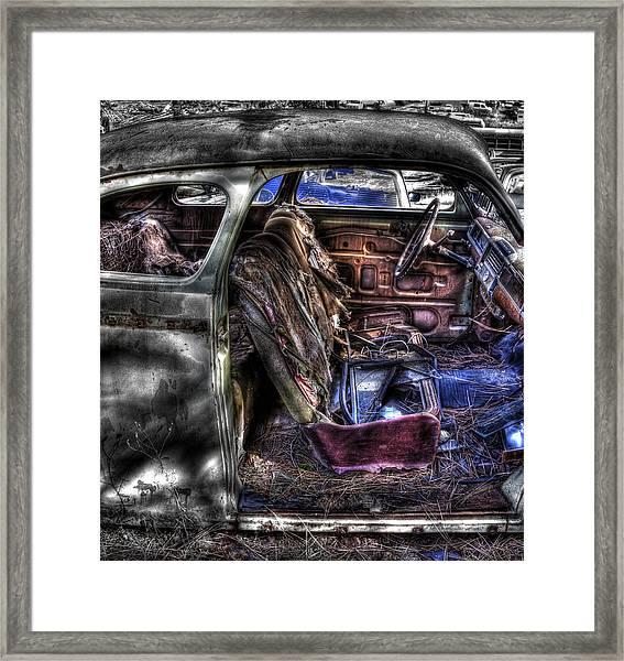 Wrecking Yard Study 1 Framed Print