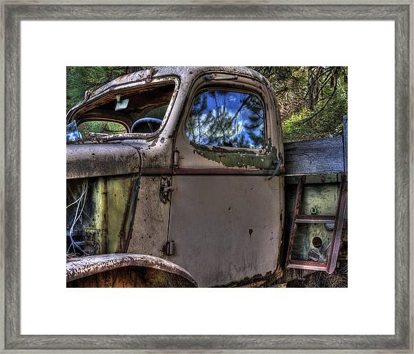 Wrecking Yard Study 4 Framed Print