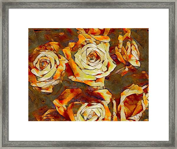 Wretched Beauty Framed Print