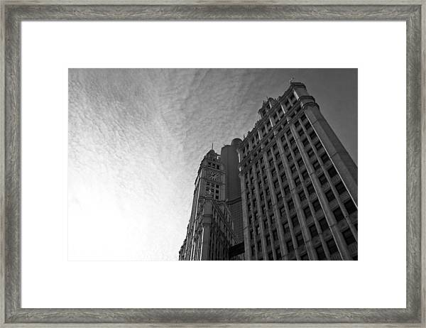 Wrigley Building II Framed Print