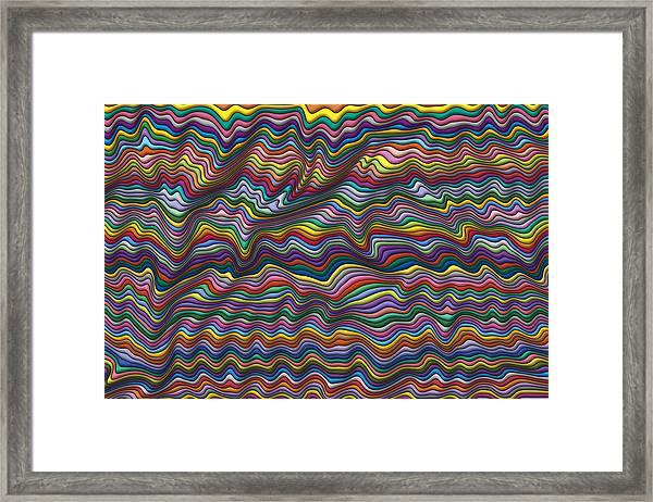 Wrinkled Framed Print