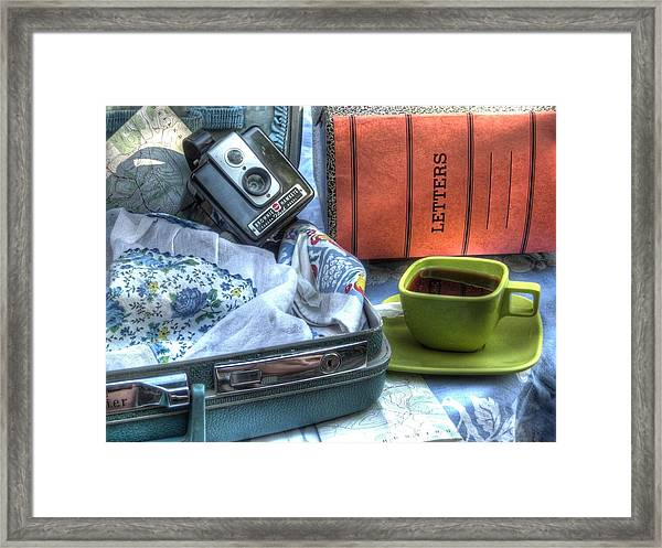 Write To Me Framed Print