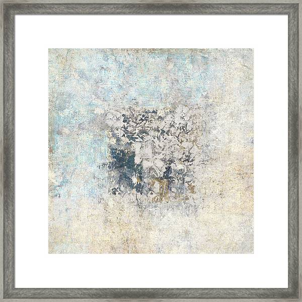 Writing On The Wall Number 5 Square Framed Print