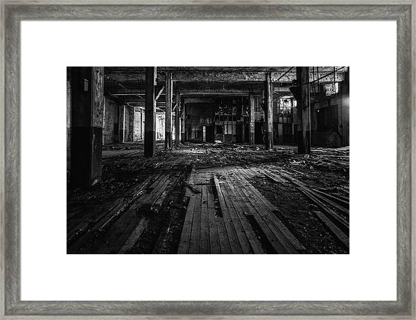 Ws 3 Framed Print