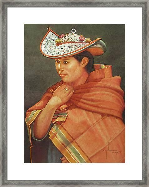 Ws1979bo005potosi Nicolaza 14x20 Framed Print by Alfredo Da Silva