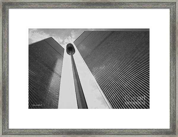 Wtc, 1982 Framed Print by Marc Nader
