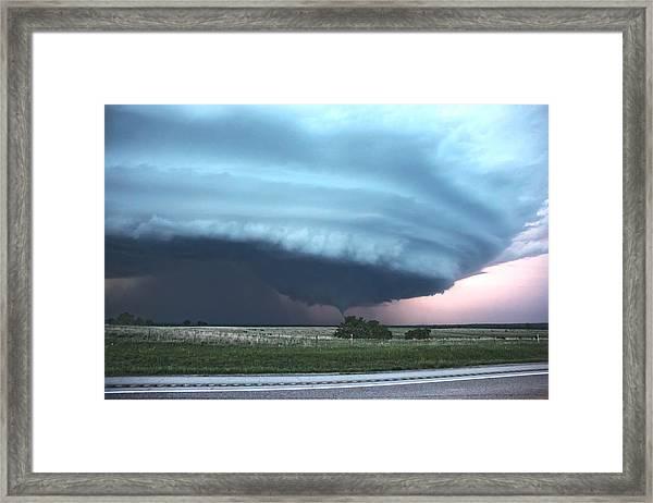 Wynnewood Tornado Framed Print