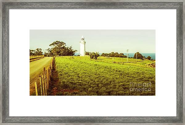 Wynyard Lighthouse Way Framed Print
