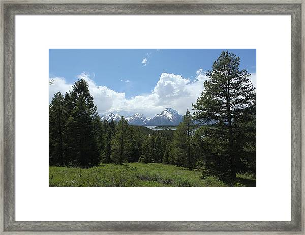 Wyoming 6500 Framed Print