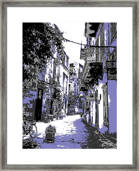 Xania Street Framed Print