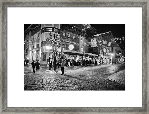 Xroads@hinterglemm Framed Print