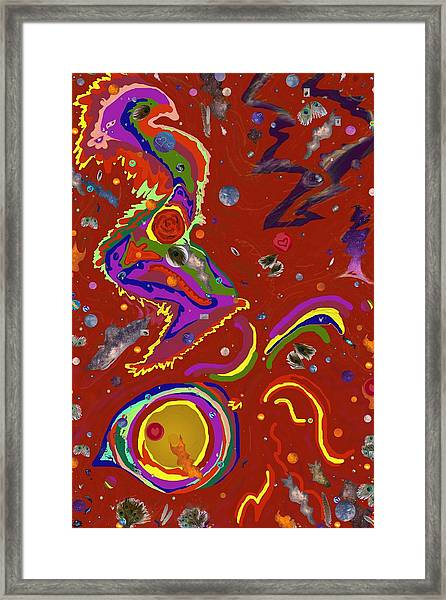 Xtine's Nebula 1 Framed Print