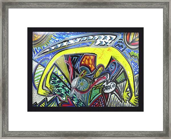 Xxxkull Patterns II Framed Print