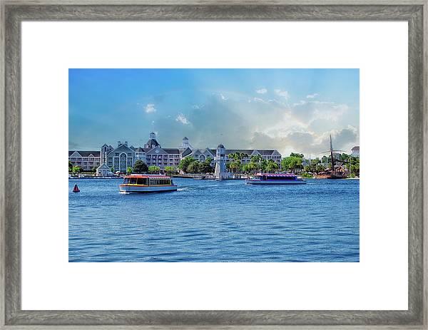 Yacht And Beach Club Walt Disney World Framed Print