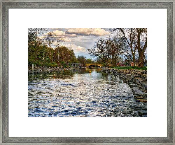 Yahara River, Madison, Wi Framed Print