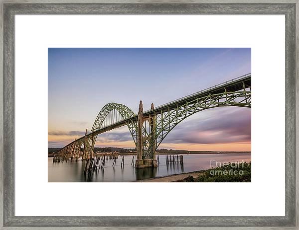 Yaquina Bay Bridge Framed Print