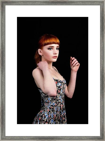 Yasmin Perfection Framed Print