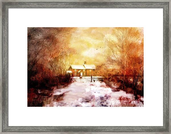 Ye Olde Inn Framed Print