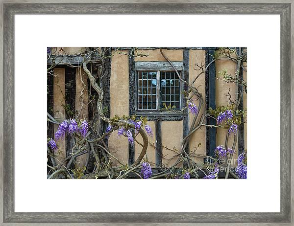 Ye Olde Window Framed Print