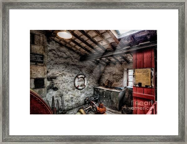 Ye Olde Workshop Framed Print