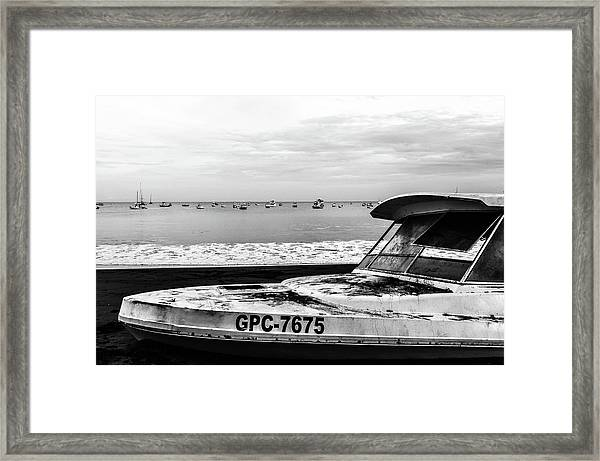 Yeah I Gotta Boat  Framed Print