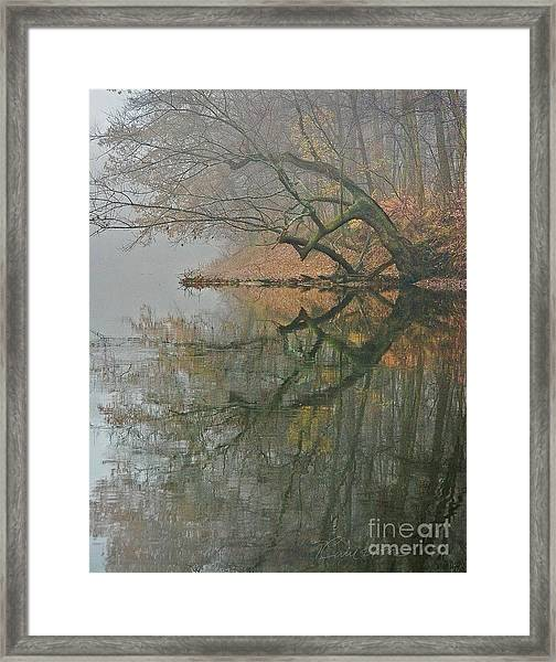 Yearming Framed Print
