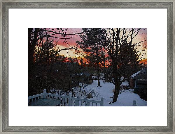 Year's End Two Thousand Ten Framed Print by Ross Powell
