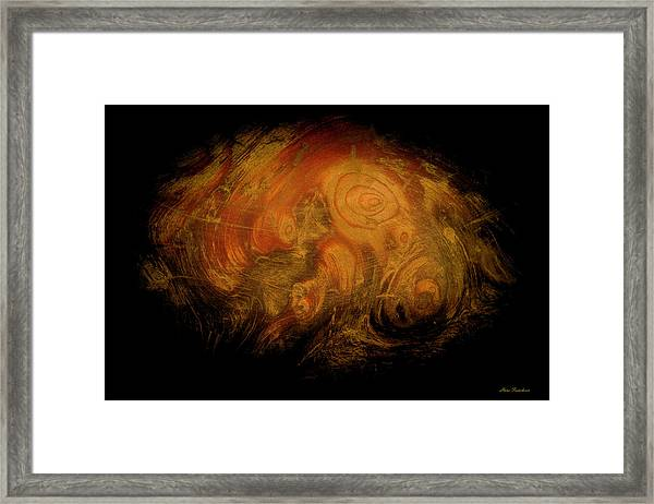 Yellow 3567 Signed Framed Print