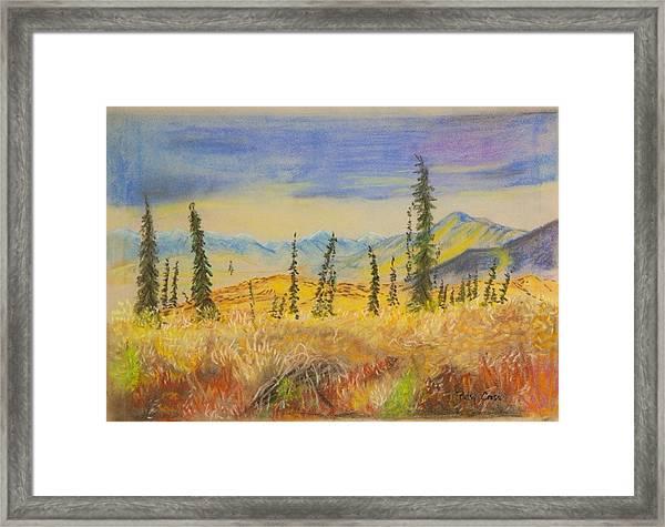 Yellow Alaska Framed Print