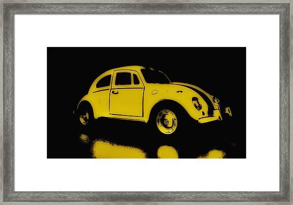 Yellow Bug Framed Print