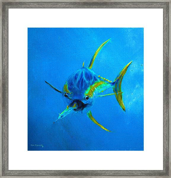 Yellowfin Tuna Three Framed Print