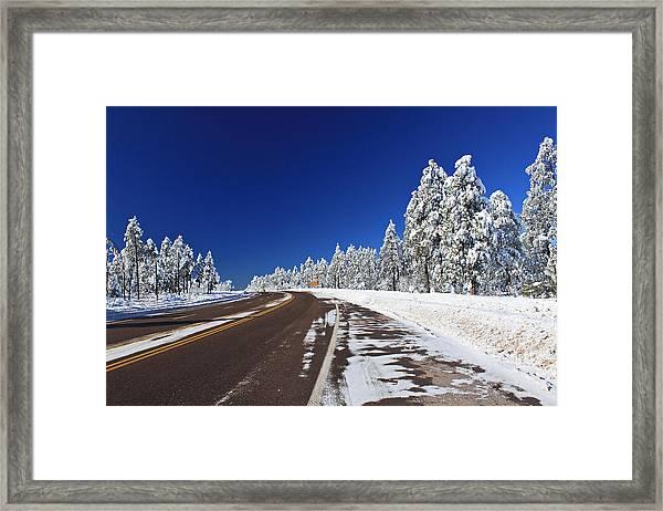 Yes Its Arizona Framed Print
